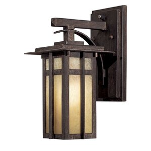 Delancy 1-Light Outdoor Wall Lantern