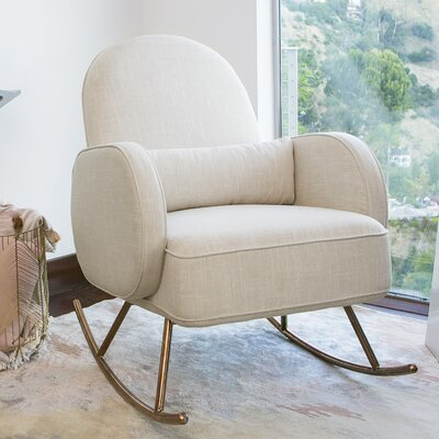 Compass Rocking Chair Fabric: Oatmeal