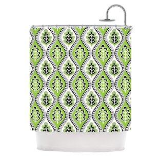 Oak Leaf Single Shower Curtain