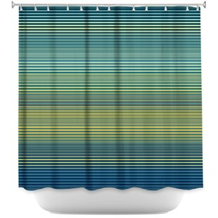 Hannan Teling Stripes Single Shower Curtain