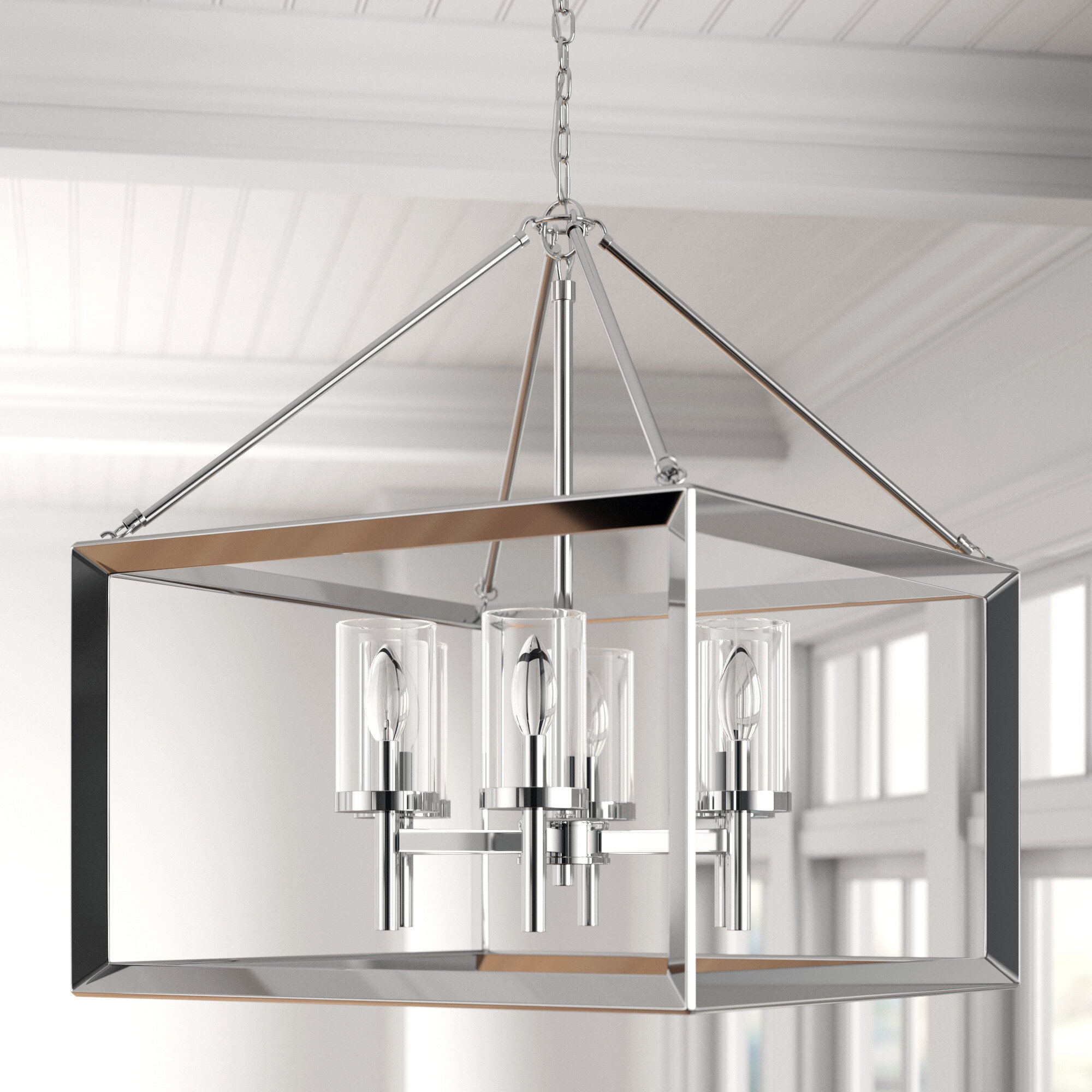Lantern Square Rectangle Chandeliers You Ll Love In 2021 Wayfair