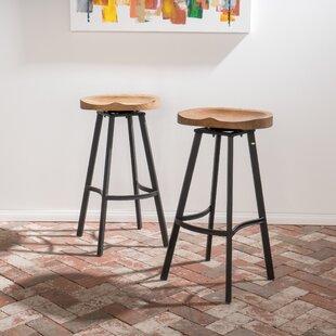 Peachy Farmhouse Rustic 200 Lbs To 300 Lbs Capacity Bar Stools Ibusinesslaw Wood Chair Design Ideas Ibusinesslaworg