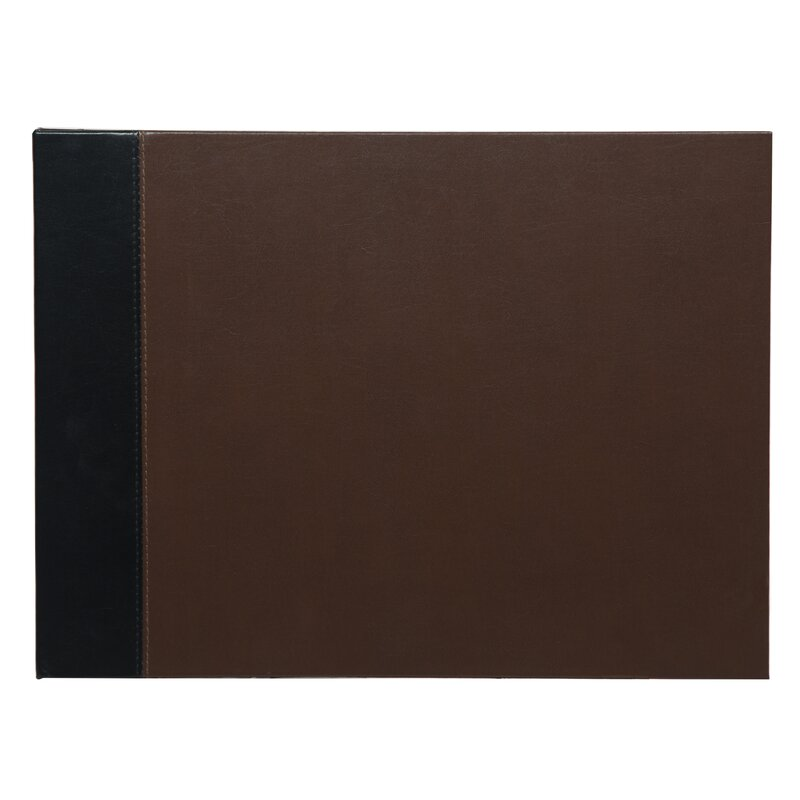 Ivy Bronx 2 Tone Leather Photo Scrapbook Wayfair
