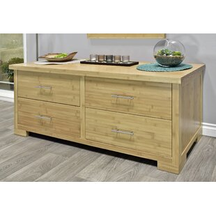 Reviews Acosta 4 Drawer Double Dresser by Millwood Pines