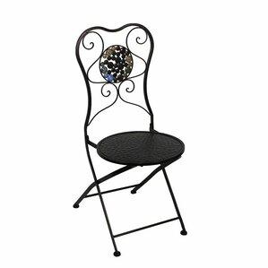 Carraton Metal Side Chair by Fleur De Lis Living