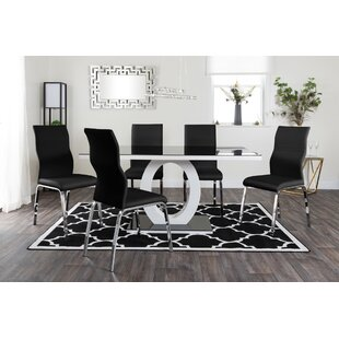 Scottsmoor Dining Set With 6 Chairs By Brayden Studio