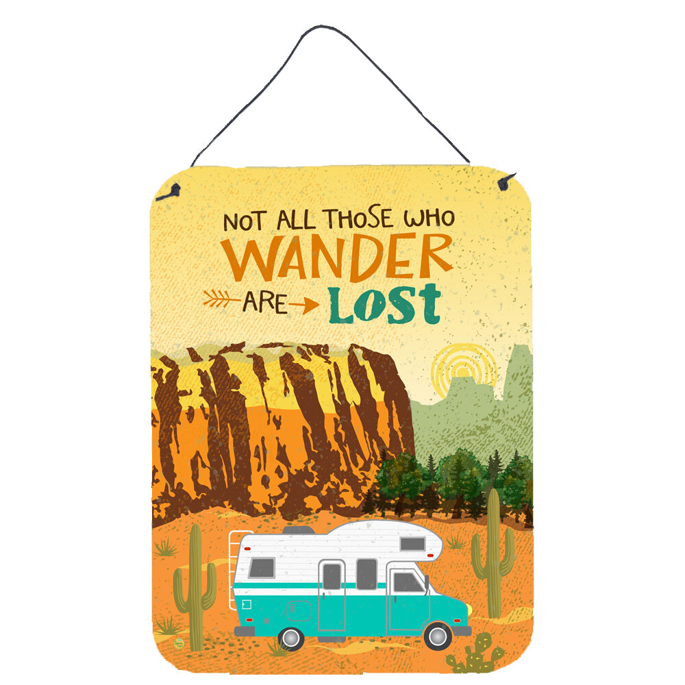 Union Rustic Rv Camper Camping Wander Hanging Prints Wall Décor Wayfair