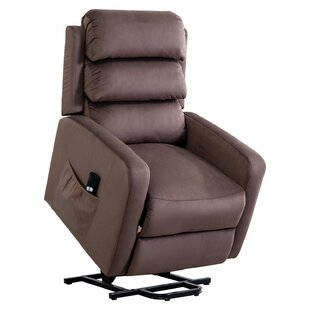 Kieran Power Lift Assist Recliner Red Barrel Studio