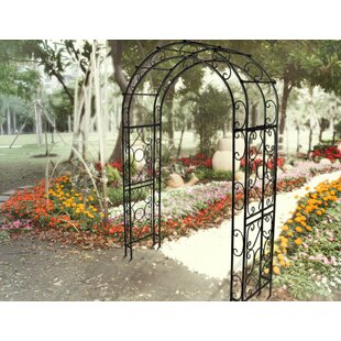 Griffith Creek Designs Victorian Steel Arbor