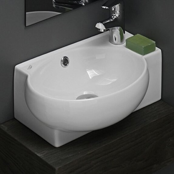 Prime Mini Ceramic Vessel Bathroom Sink With Overflow Download Free Architecture Designs Grimeyleaguecom