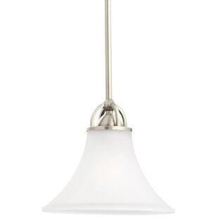Darby Home Co Bushmills 1-Light Cone Pend..