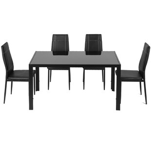 Dimattia 5 Piece Dining Set by Latitude Run