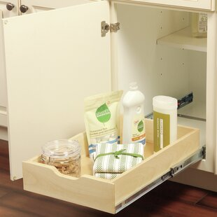Rebrilliant Bradwell Soft Close Wood Box Pull Out Drawer