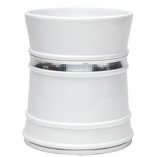 Sweet Home Collection Radiance Waste Basket