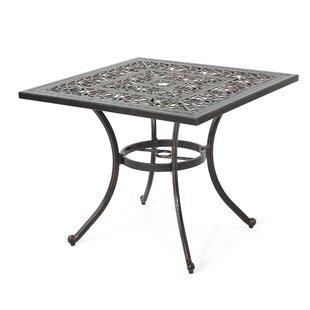 Compare & Buy Stein Metal Dining Table By Bloomsbury Market