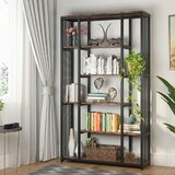 Dockray Industrial Etagere Bookcase by 17 Stories