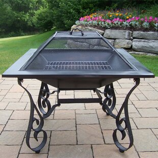Fire Pits Stainless Steel Wood Burning Fire Pit by Oakland Living