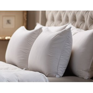 Medium Sleeping 360 Thread Count Filled Down Alternative Pillow by Alwyn Home