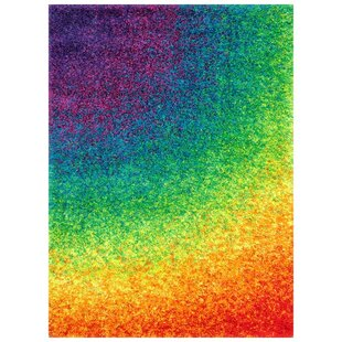 Fitzsimons Purple/Green/Orange Indoor/Outdoor Area Rug