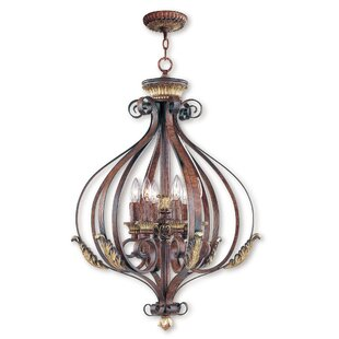 Astoria Grand Scottdale 6-Light Foyer Pendant