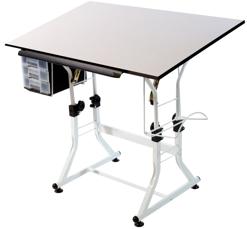 ashley creative drafting table