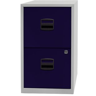 PFA 2-Drawer Filing Cabinet By Bisley