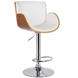 Livermore George Oliver Adjustable Height Swivel Bar Stool by George Oliver
