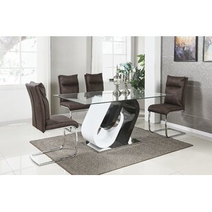 Virgouda 5 Piece Dining Set by Orren Ellis