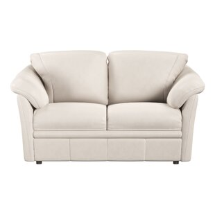 Lyons Leather Loveseat