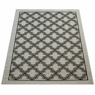 Midhurst Flatweave Grey Indoor/Outdoor Rug By World Menagerie