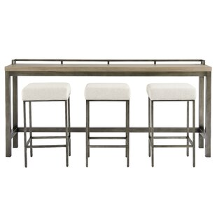 Foundry Select Susan Console Table and Stool Set