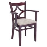 Livermore Solid Wood  Arm Chair by Winston Porter
