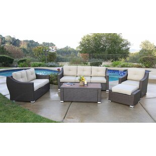 Leib Luxury 5 Piece Sofa Set with Cushions