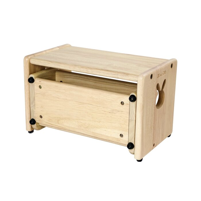 Primary Wooden Bunny Steps Stool with Storage  sc 1 st  Wayfair : steps stool - islam-shia.org