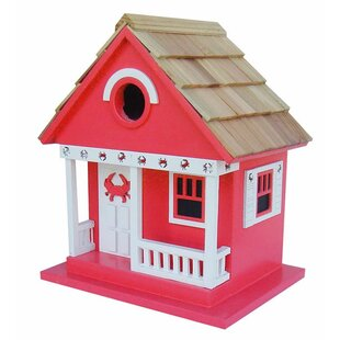 Wind & Weather Wood Beach Cottage 9.5 in x 8.5 in x 6.5 in Birdhouse