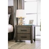 Triplett 2 Drawer Nightstand by Rosalind Wheeler