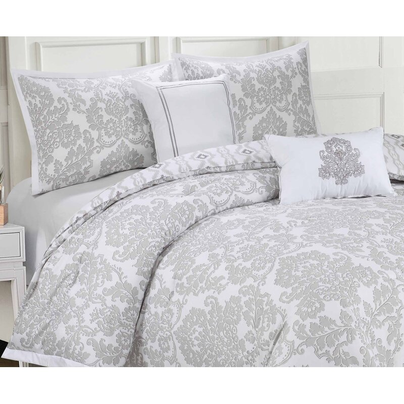 Ellen Tracy Slipcovers 6 Piece Reversible Comforter Set Reviews