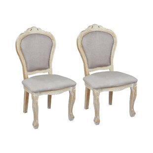 Champetre Upholstered Dining Chair (Set Of 2) By Lily Manor