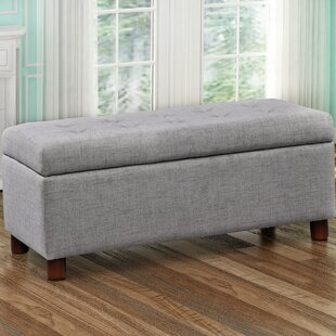 Charlton Home Dulaney Upholstered Storage Bench