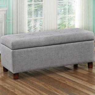 Charlton Home Dulaney Upholstered Storage Bench