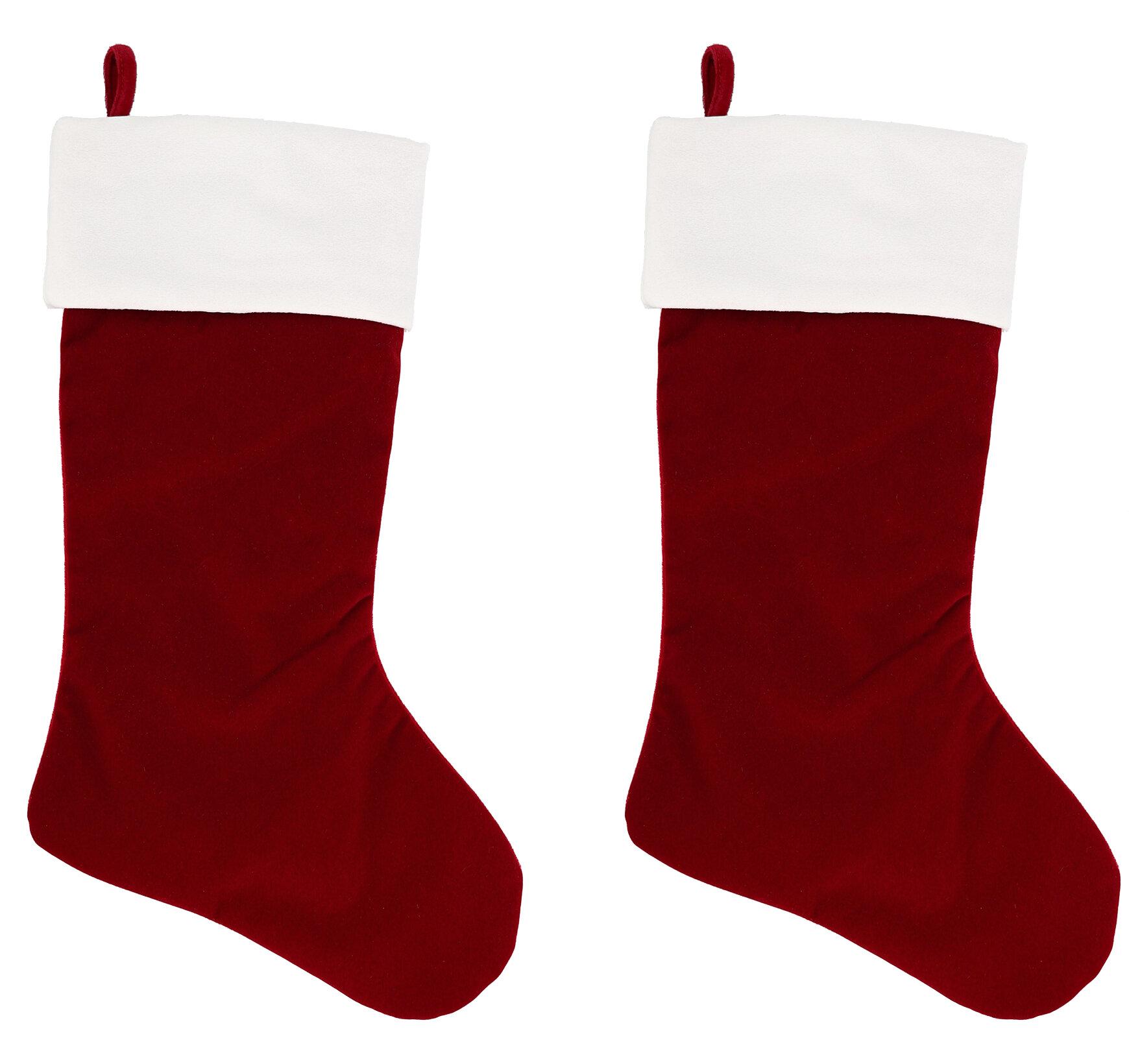 Haute Decor Hangright 2 Deluxe Christmas Stocking Reviews Wayfair