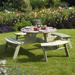 Wooden Garden Tables