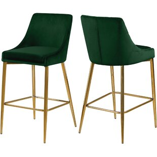 Paluch 27.5 Bar Stool (Set of 2) Orren Ellis