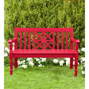Beautiful Red Outdoor Benches Youu0027ll Love | Wayfair