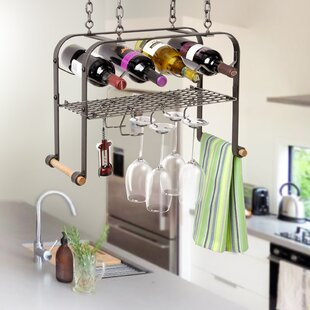 4 Bottle Hanging Wine Rack by Enclume
