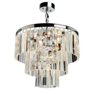 Bindera 9-Light Crystal Chandelier by Rosdorf Park