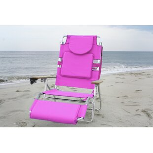 Hopkinton Reclining Beach Chair with Cushion