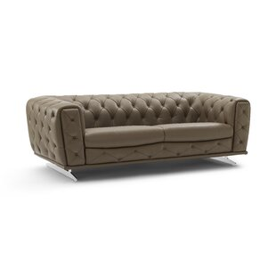 Bloomsburg Leather Sofa