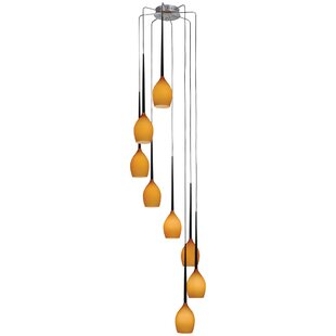 Earlene 8-Light Cluster Pendan..