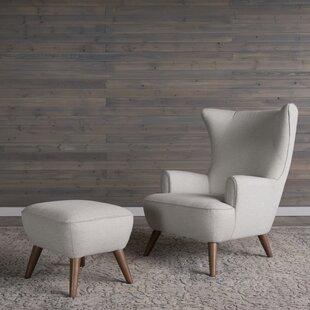 Ruby Wingback Chair by Corrigan Studio